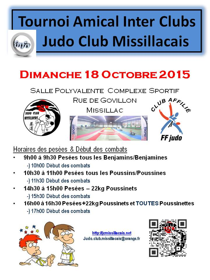 Tournoi Amical Inter Clubs 10-2015