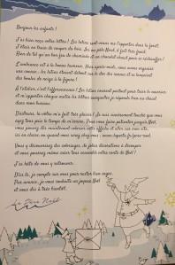 Lettre Père Noel 2016